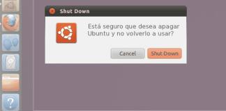 Apagar Ubuntu