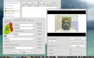 Añadiendo foto desde webcam