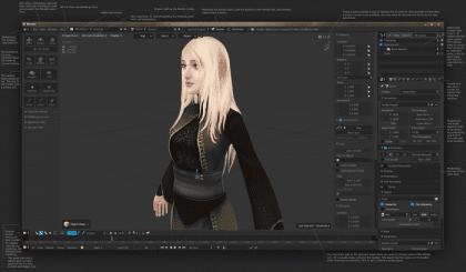 Modelado para video juegos en Blender