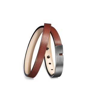 Bracelet-u-turn-twice-marron-ursul
