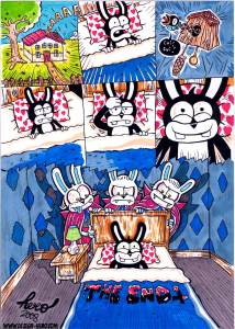 """Hero """"the night of the living rabbit"""" Le lapin magique"""