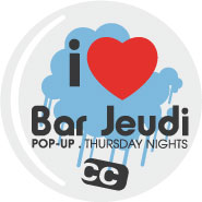 I love Bar Jeudi Hero aka herographics