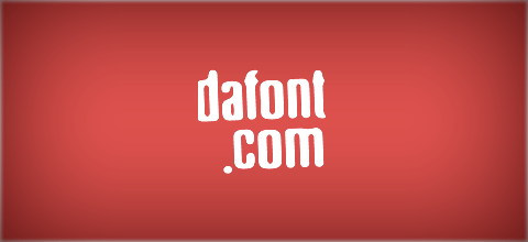Dafont Free website on designhero.tv hero olivier dressen