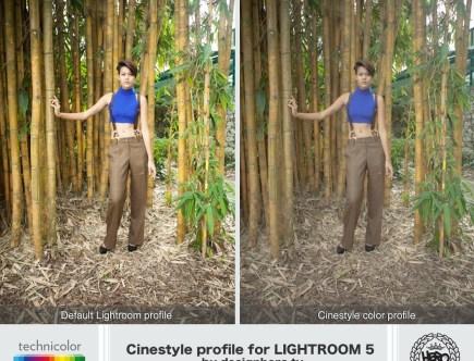 Cinestyle, lightroom by designhero.tv