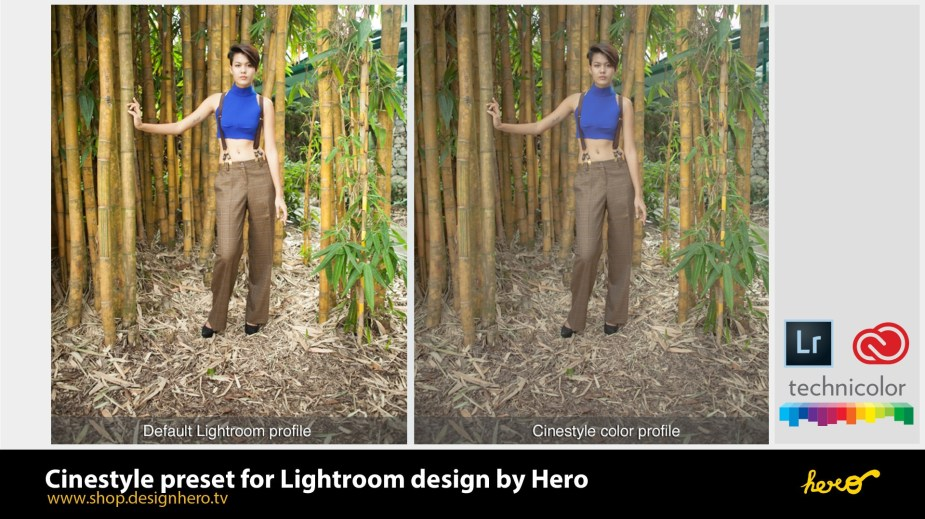 Cinestyle Preset for Lightroom by designhero.tv