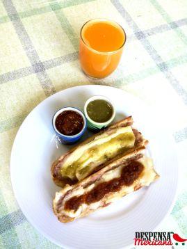 Receta de Molletes Mexicanos
