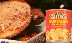 receta de buñuelos con miel de guayaba