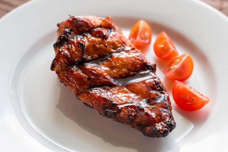 Pollo con salsa de tamarindo