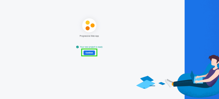 Firebase setup step 5