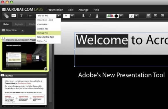 Presentations Text
