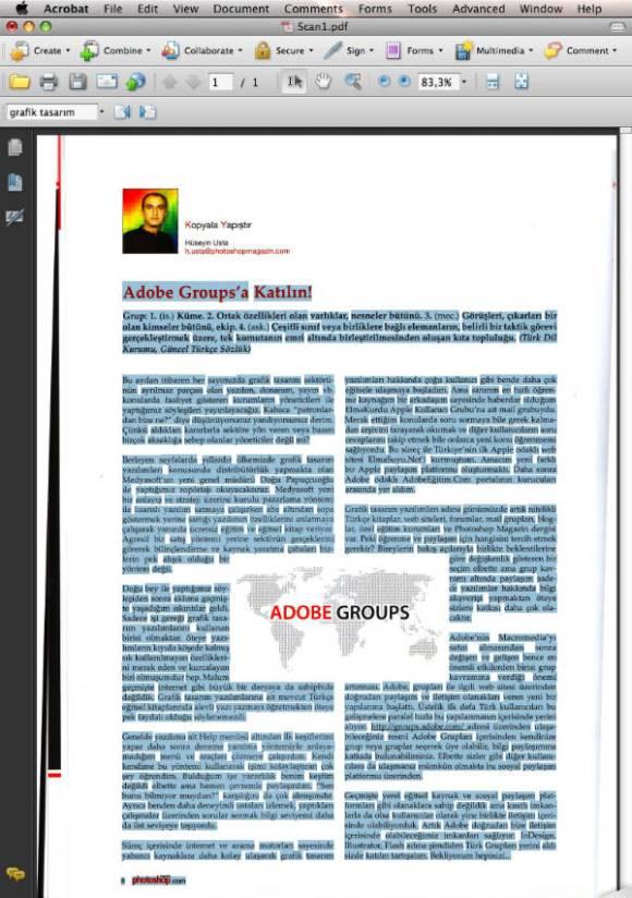 Taranmış Sayfa