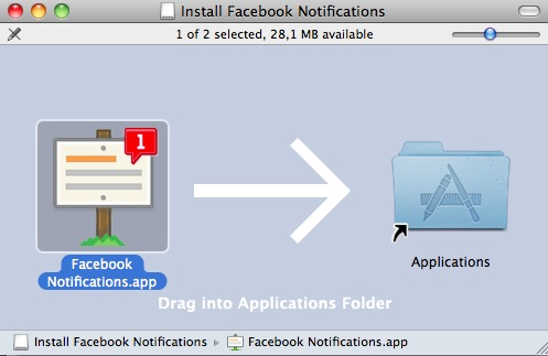 Install Facebook Notification