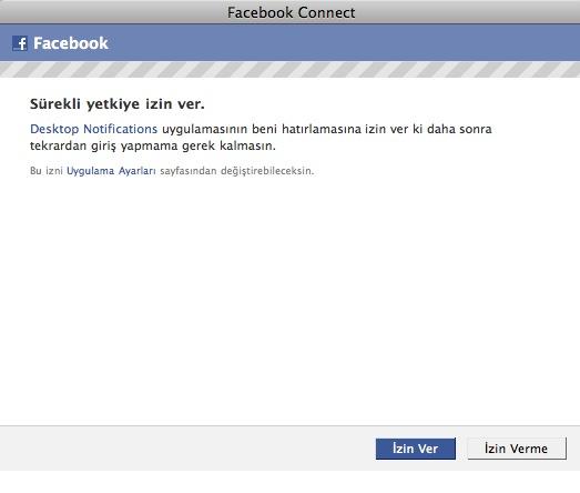 facebook takip izin verme