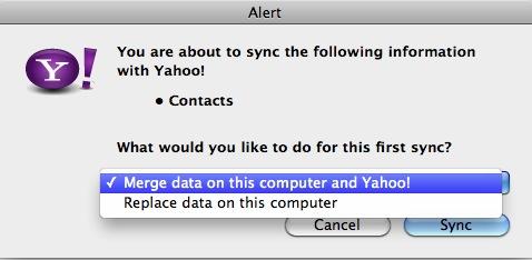 Yahoo uyarı
