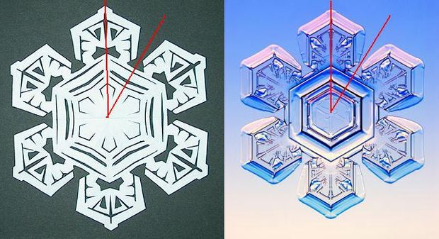 How to Make Paper Snowflakes Step 11-a
