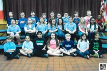 West Blocton Elementary School Flat Stanley Students