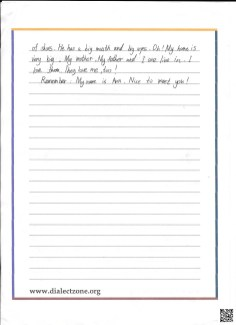 Flat Ann Letter Page 2