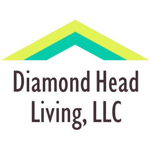 Diamond Head Living logo, residential property management in Honolulu, Hawaii