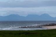 Islays Berge im Dunst