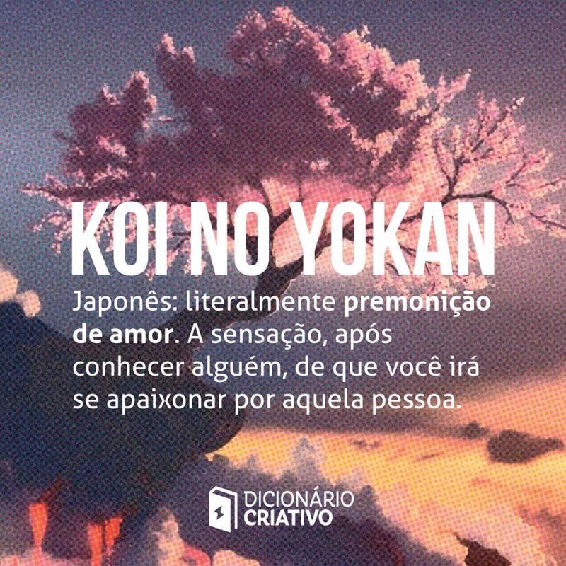 koi no yokan palavra de amor