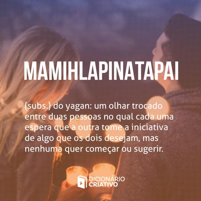 mamihlapinatapai palavras de amor