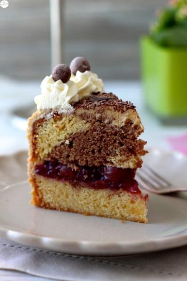 Espresso-Kirsch-Torte