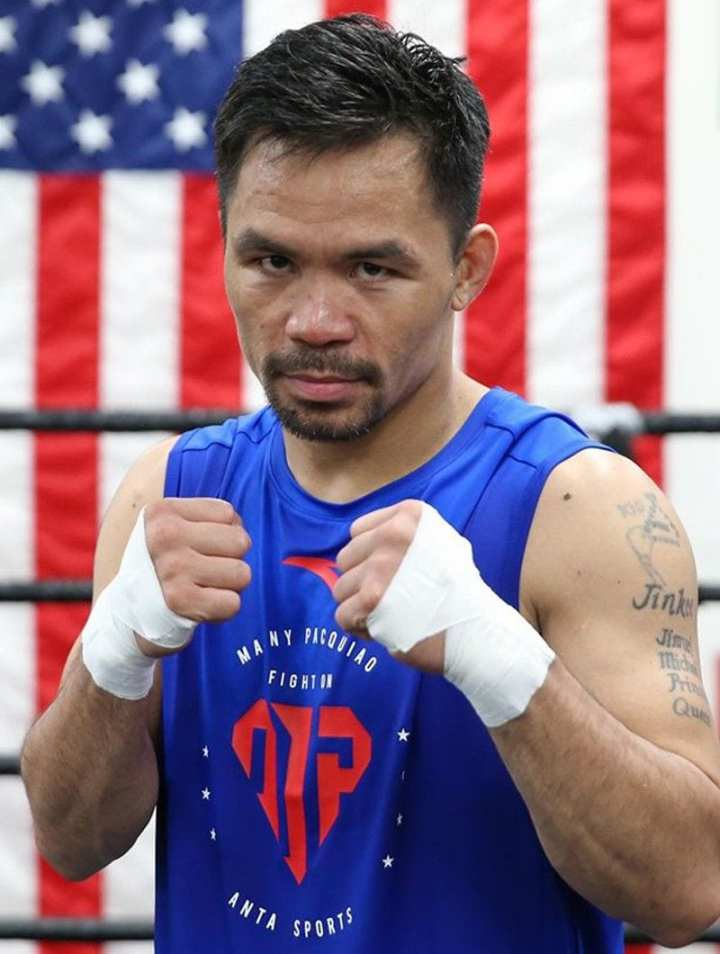 Manny Pacquaio is into politics and crypto
