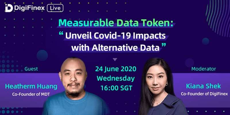 Measurable Data Token