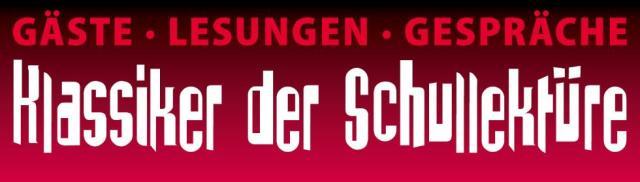 """Schriftzug """"Klassiker der Schullektüre"""""""