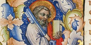 St. Peter holding the key
