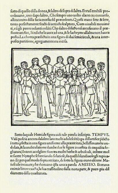 Hypnerotomachia Poliphili (The Strife of Love in a Dream), Francesco Colonna, printed by Aldus Manutius, Venice, 1499.