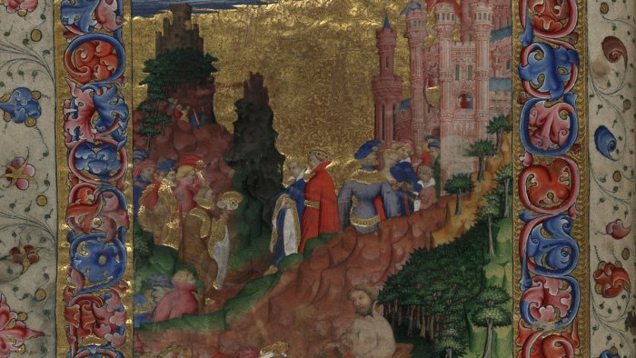 Cambridge, Corpus Christi College, MS 061: Geoffrey Chaucer, Troilus and Criseyde. f. 1v