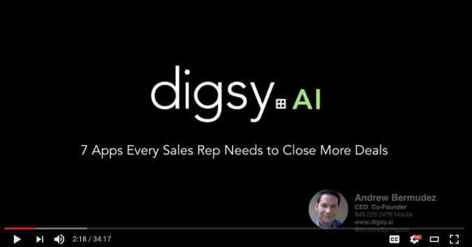 Webinar: Top 7 Apps Every Sales Rep Needs to Use to Close More Deals