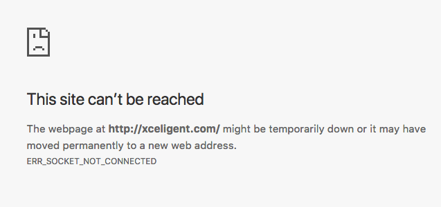 Xceligent Bankruptcy