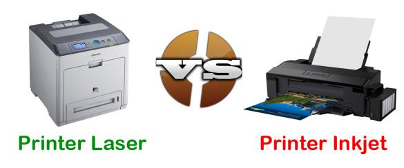 Pilih Printer Inkjet atau Laser, Bagus mana ?