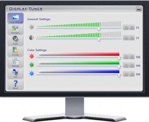 pencahayaan pada layar monitor