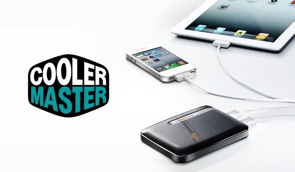 Power Bank bagus Merk CoolerMaster 6600 mAH untuk HP Smartphone-min