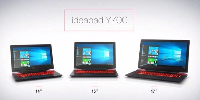 Spesifikasi Lenovo IdeaPad Y700 dan Harga Terbaru 2016