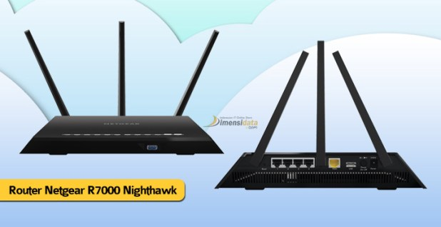 Wireless Router Terbaik Tercepat Netgear R7000 Nighthawk
