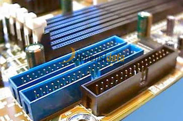 Slot IDE - Komponen Dalam Motherboard Komputer