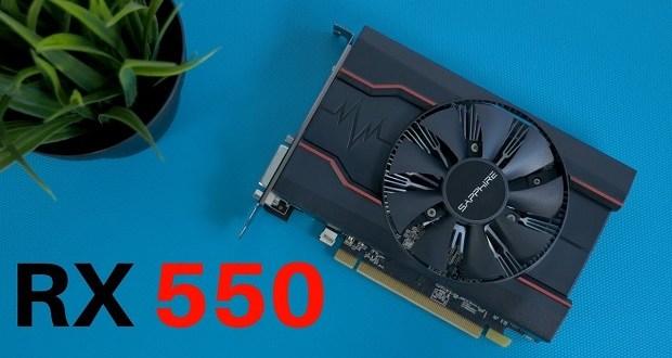 AMD Radeon RX 550, VGA Gaming Terbaik Harga Cuma 1 Jutaan
