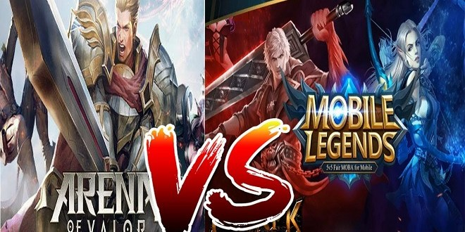 Arena of Valor vs Mobile Legend, Bagus Mana?