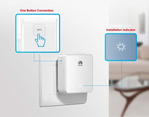 Harga dan Spesifikasi Huawei WiFi Repeater easy lock WS331C