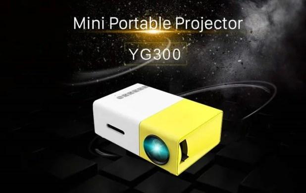 Mini Projector Portable YG300 Harga