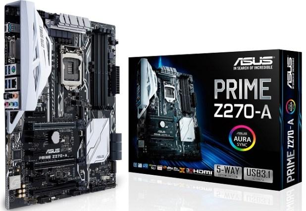 Motherboard Gaming Terbaik Asus Prime Z270-A