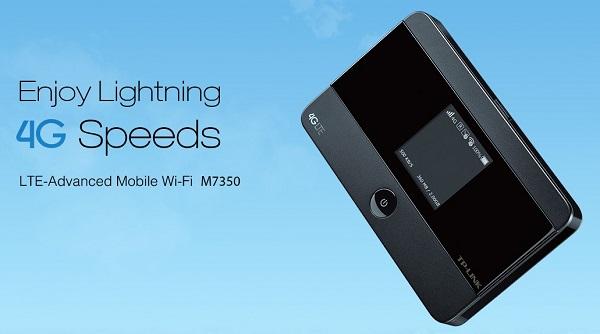 Spesifikasi dan Harga Modem TP-Link LTE Advanced M7350