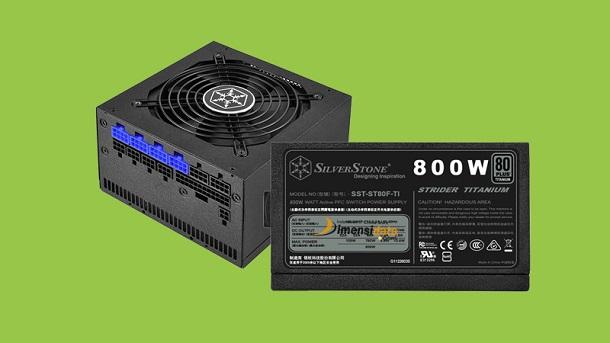 Spesifikasi dan Harga PSU Gaming SilverStone Strider Platinum ST80F-TI