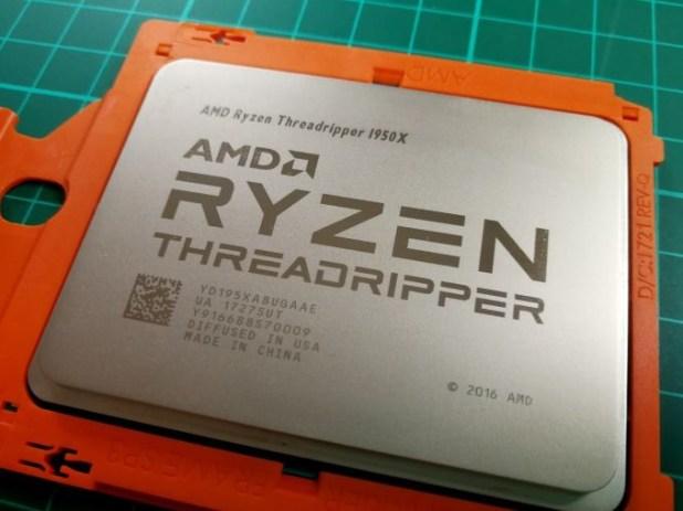 Update Urutan TOP Processor Gaming AMD Ryzen Threadripper 1950X