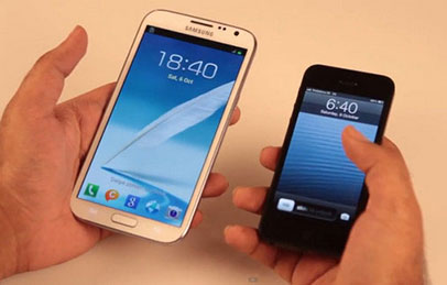 Pilih Mana iPhone 5 atau Samsung Galaxy Note II?