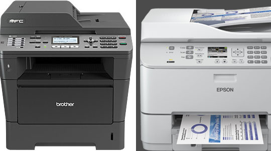 Untuk All in One Printer , BROTHER MFC-8510DN atau Epson Workforce Pro-4521?